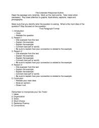 Examples Of Essay Outlines Format Poetry Response Essay Template