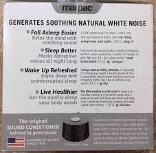 White Noise Machine For Bedroom Marpac Dohm Serious Sleep Ss Sound Conditioner Review Tom U0027s Tek Stop