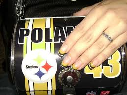 68 best steelers nails images on pinterest pittsburgh steelers