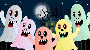 halloween monsters five little monsters nursery rhyme with lyrics halloween song