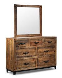 Broyhill Attic Heirloom Bedroom by Maya 5 Piece Queen Bedroom Set Rustic Pine Leon U0027s