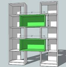 Easy Wood Shelf Plans by Ana White Build A Puzzle Bookcase Free And Easy Diy Project