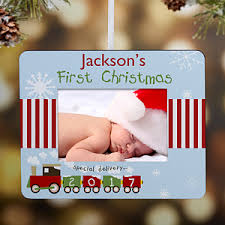 personalized ornaments baby s frame