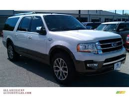 ford expedition king ranch 2015 ford expedition el king ranch in white platinum metallic tri