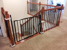 Baby Gate Stairs Banister Baby Gates For Stairs No Drilling Safe Baby Gates For Stairs