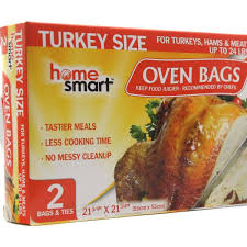 turkey bags oven bag turkey size up to 24lbs 24ct 2pcs homesmart products