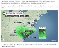 rainfall totals map october weather history