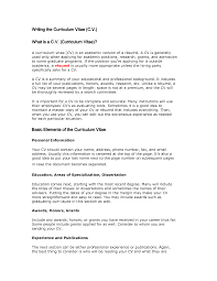 what is a resume cv virtren com