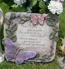 garden memorial stones you left us memorial garden marker memorial garden stones