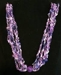 ladder ribbon 13 best ladder ribbon yarn necklace images on yarn