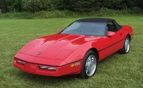 1989 corvette convertible collector car productions