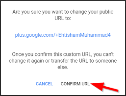 Google Plus Page Vanity Url How To Get Custom Url For Your Google Profile Or Page 2018