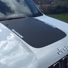 jeep hood decals bonnet hood and side decals jeep renegade forum
