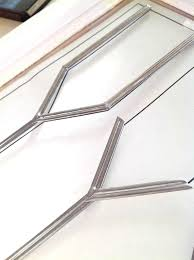 faux stained glass kitchen cabinets leaded glass application on kitchen cabinets