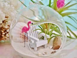 Flamingo Home Decor In Love With Mini Terrariums U2013 Adorable Home