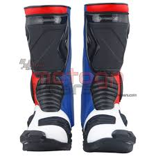 leather motorbike boots gopro motorbike racing leather boots