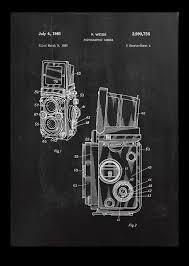 Vintage Camera Decor Camera Poster Vintage Camera Patent Vintage Camera Print