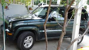 jeep dark green jeep liberty limited 2002 for sale