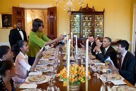 dinner host president barack obama and first lady michelle obama host a passover