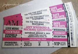 concert ticket invitation template emejing concert ticket wedding