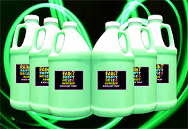 glow in paint 6 pack gallon acrylic luminous glow in the paint