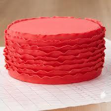 ruffled ribbon ruffled ribbons fondant cake wilton