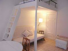 loft bed with stairs in white for the home pinterest