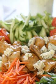 buffalo chicken salad with blue cheese dressing prepare u0026 nourish