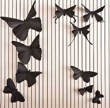 Butterfly 3d Wall Art by Design Of The Day U2013 3d Butterfly Wall Art By Hip And Clavicle