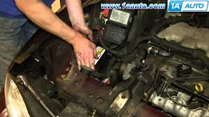 how to install replace dead battery 2000 07 chevy monte carlo
