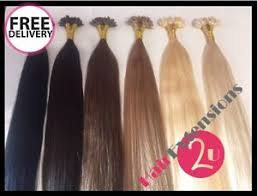 closing down sale indian remy pre bonded u nail tip hair