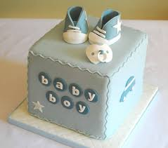 baby boy cakes celebration cakes for a new baby photo 1