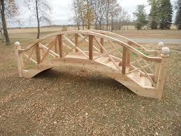 Backyard Bridge Garden Bridges 4 52ft Long Elegant Wooden Landscape Garden Bridge