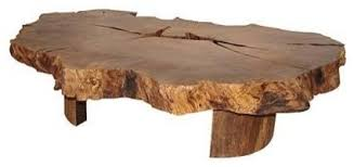 natural wood table top bring the nature in your home with natural wood coffee table how