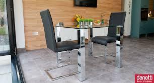 small glass kitchen tables glass kitchen tables for small spaces glass top dining tables small spaces