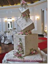 wedding cake structures 3 tier box type wedding cake structure sri lanka online shopping