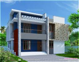 simple two storied house elevation in 2290 sq feet kerala home