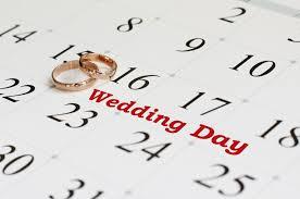 calendrier mariage rétro planning mariage sur un an conseils et organisation