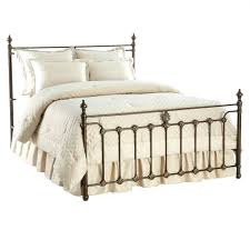 beds wrought iron canopy bed canada frame queen white metal beds