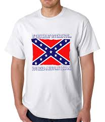 Why The Confederate Flag Is Offensive Rebel U0026 Redneck Tees Confederate Flag History Lesson T Shirt