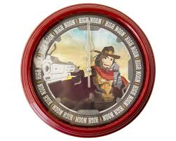 overwatch it u0027s high noon parody wall clock esclair studios