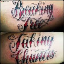 45 cool ambigram text tattoos golfian com