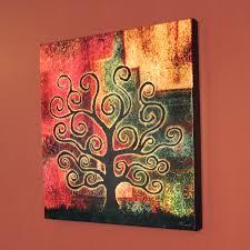 tree art modern art for home canvas print