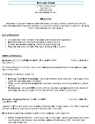 cover letter server bartender resume server bartender resume
