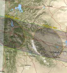 Map Of Montana And Wyoming by Solar Eclipse Weather Mountain Weather
