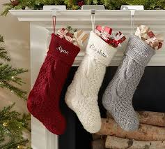 cable knit christmas chunky knit pottery barn