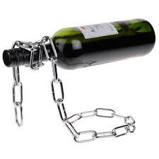 wine bottle holder leather wine bottle holder black barrel stave