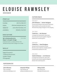 Modern Resume Sample by Modern Resume Templates Canva