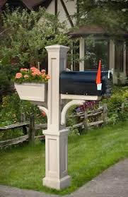12 best garden mailbox landscaping images on mailbox