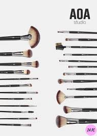aoa essential 24 piece brush set u2013 shop miss a